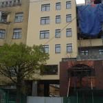 Фасад многоэтажного дома