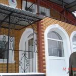 Украшение фасада декором LEAR