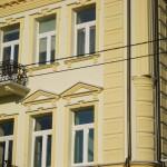 Оформление фасада декором LEAR